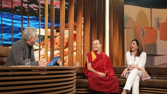 Marisa Orth buscou o budismo por causa de perda de cabelo, causada pela fama