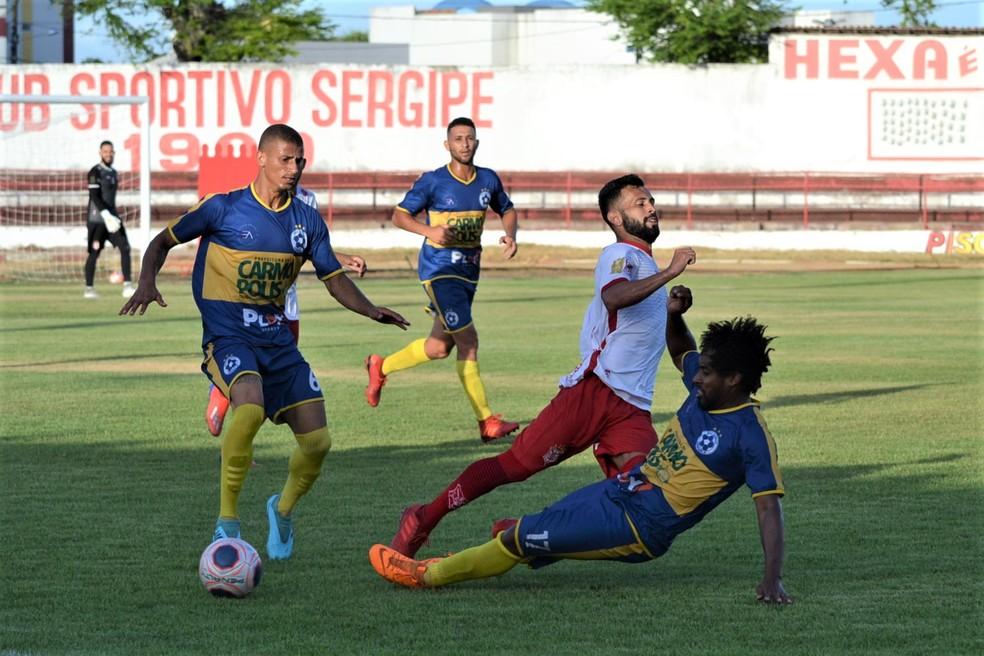 Boca Júnior venceu o Sergipe em amistoso no JH — Foto: José Maria Marques
