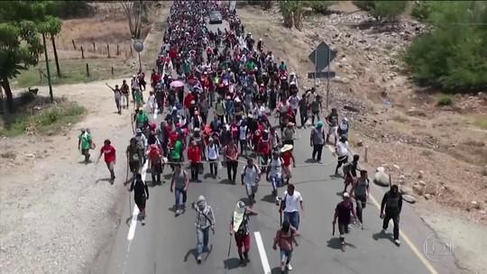 Polícia do México detém mais de 300 em operação contra caravana de migrantes da América Central