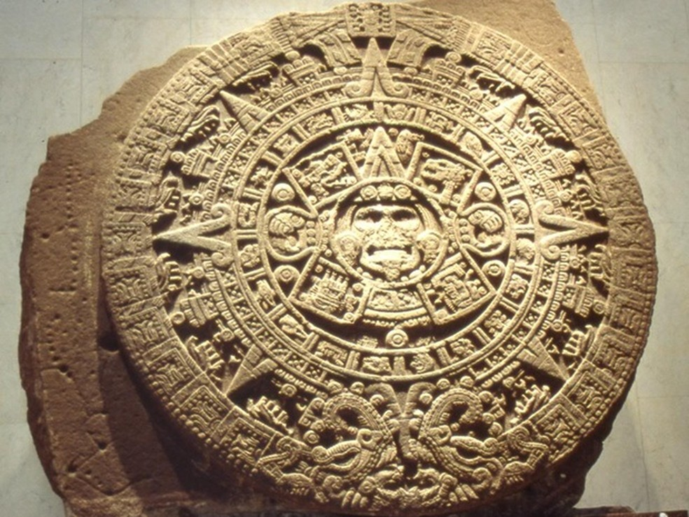 Calendário maia causou toda a polêmica do fim do mundo (Foto: Reprodução)