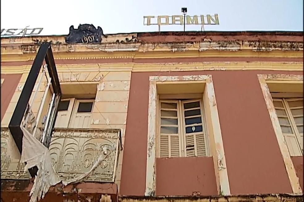 'Pensão Tormin' em Araxá (Foto: Reprodução/TV Integração)