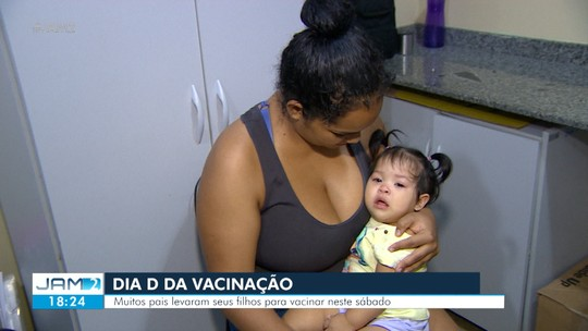 Manaus tem Dia D de vacinação