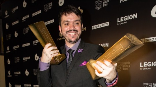 Foto: (Prêmio eSports Brasil/Saymon Sampaio)