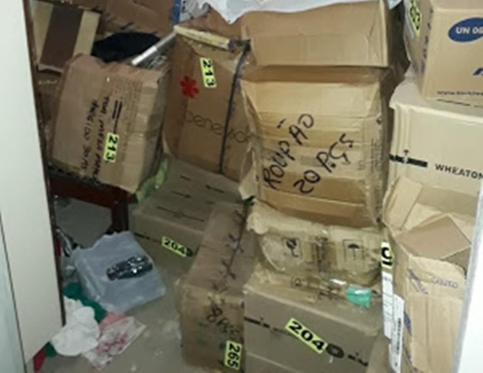 Material encontrado dentro de residência em Agrestina (Foto: WhatsApp/Reprodução)