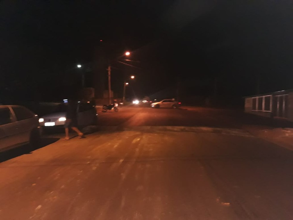 Segundo a família, motociclista passou por uma lombada sem sinalização em Ocauçu — Foto: Arquivo pessoal/Adenilson de Souza