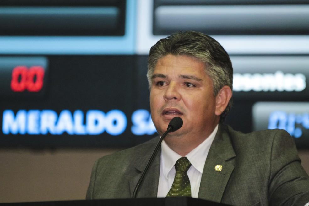 Meraldo Sá — Foto: Marcos Lopes/ALMT