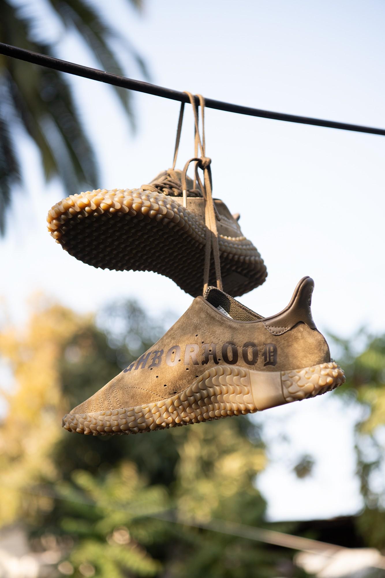 O adidas Originals x Neighborhood Kamanda é um exemplo de tênis bem na linha entre o esportivo e o funcional que representam os sneakers urbanos (Foto: Divulgação)