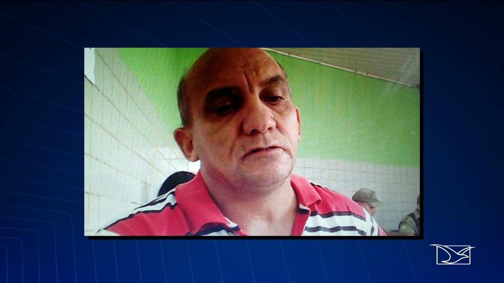 Elias de Araújo de Jesus é policial militar aposentado com patente de sargento (Foto: Reprodução/TV Mirante)