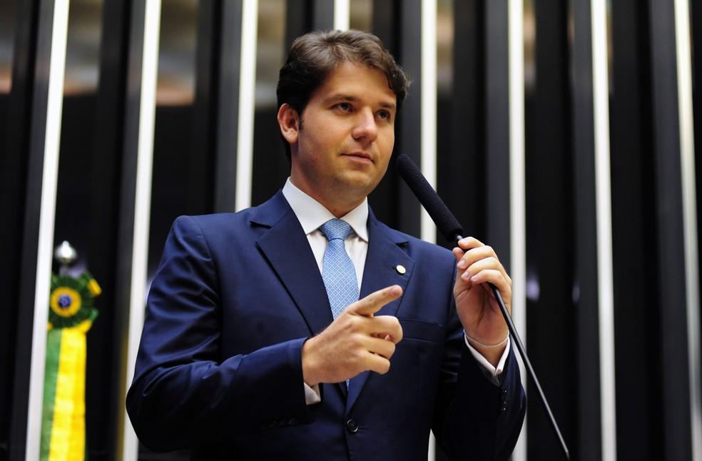 Ex-deputado Luiz Argôlo no plenário da Câmara em março de 2013 — Foto: Gustavo Lima / Câmara dos Deputados