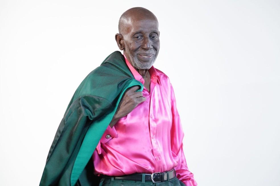 Nelson Sargento, de 96 anos, está internado no RJ — Foto: Edinho Alves