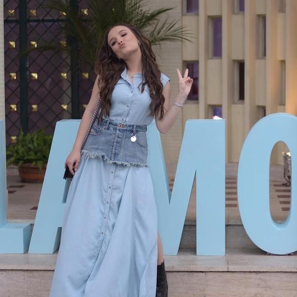 Larissa Manoela no Glamour Beauty Festival (Foto: Arthur Vahia)