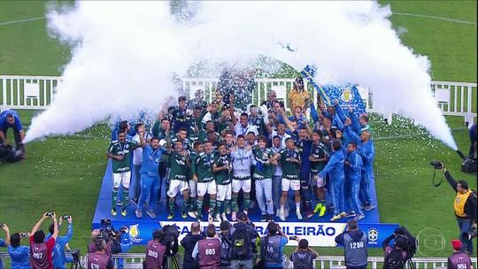 Palmeiras sobra no Brasileiro Sub-20; evolução de Luan Cândido salta aos olhos