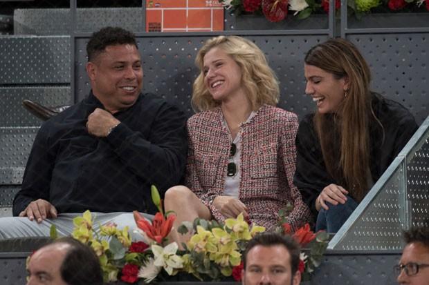 Ronaldo, Celina Locks e Bianca Brandolini (Foto: Reprodução)