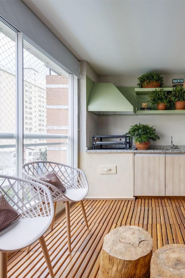 Toque verde: 5 passos para instalar prateleiras com plantas e 10 projetos para se inspirar (Foto:  Raul Fonseca)