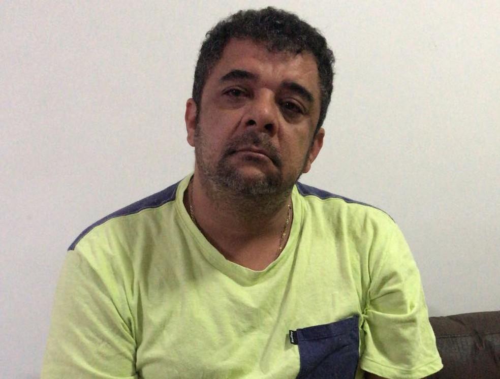 Alexandre Coutinho, o Tioco, um dos presos na Operação Saigon (Foto: Reprodução/TV Globo)