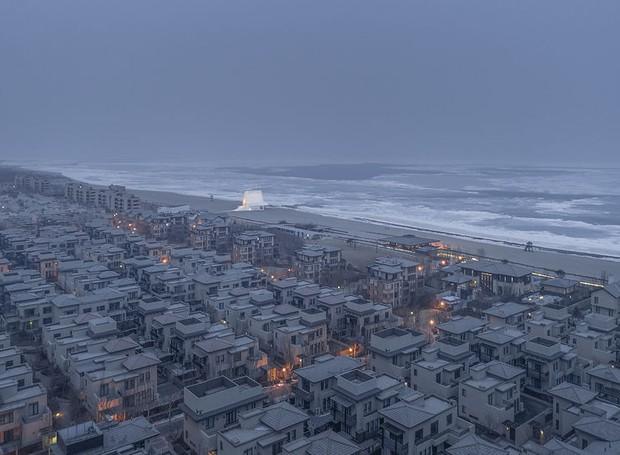 Ai Qing, da China, clicou a Capela Seashore, projeto de Vector Architects (Foto: Architectural Photography Awards/Reprodução)
