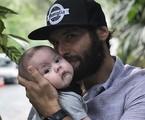 Dudu Azevedo com o filho, Joaquim | Reprodução