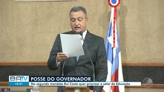 Governador Rui Costa toma posse na Bahia