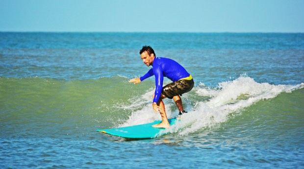 Surfistas profissionais utilizam prancha da Oric (Foto: Divulgação)
