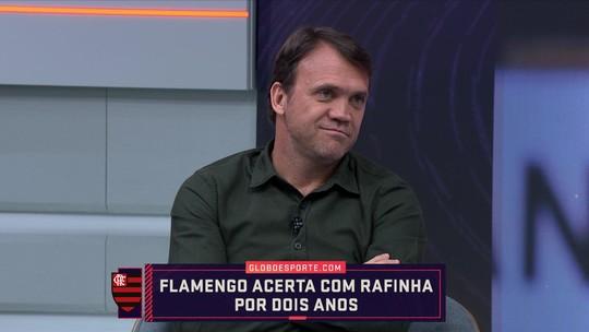 """Flamengo acerta com Rafinha, mas Pet comenta: """"Não sei se vai dar certo"""""""
