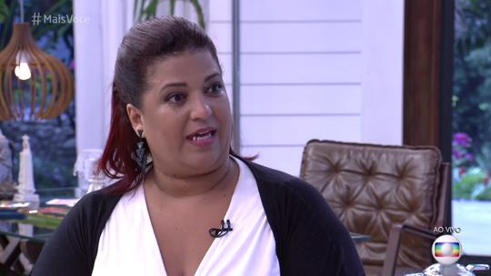 Chef Liliam Altuntas se emociona ao conhecer Ana Maria Braga e conta que já fez mais de 750 receitas do 'Mais Você'