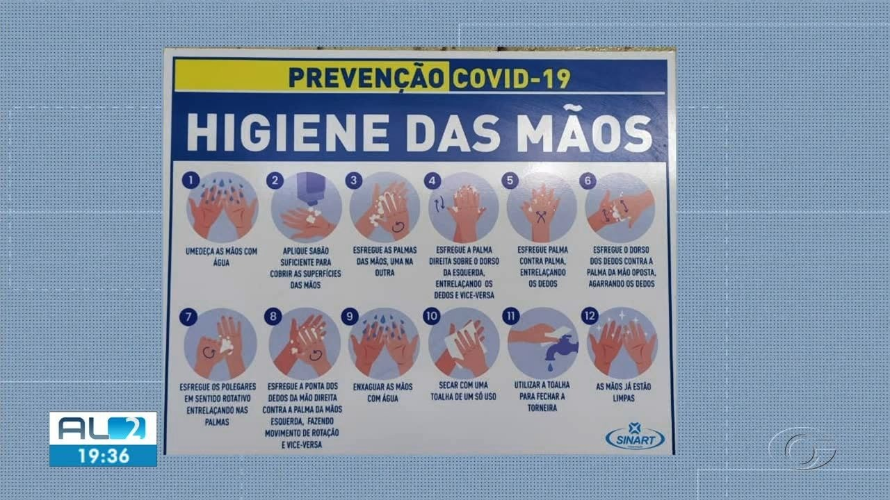 Pesquisa mostra que pessoas estão higienizando as mãos com mais frequência