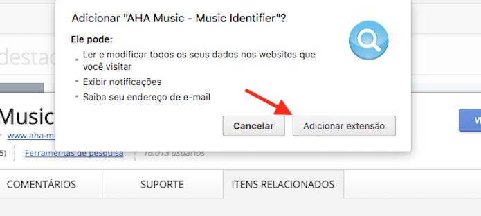 AHA Music: Plugin no Chrome descobre qual música está