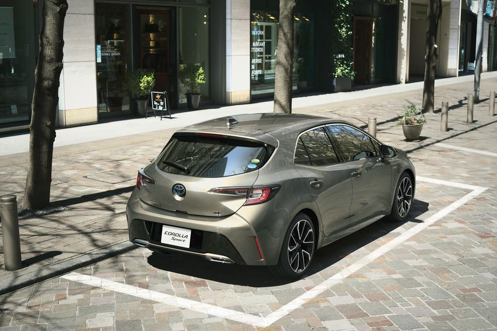 Toyota Corolla Sport hatch ganha nova geração — Foto: Toyota/Divulgação