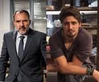Germano (Humberto Martins) e Rafael (Daniel Rocha) | TV Globo