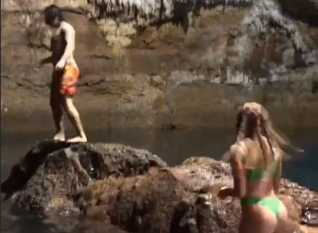 Whindersson aproveita Cancún com a mulher, Luiza Sonza (Foto: Reprodução / Instagram)