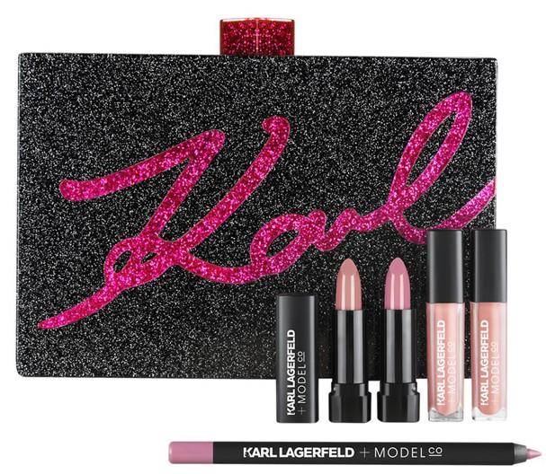Coleção de maquiagem de Karl Lagerfeld  (Foto: Divulgação)