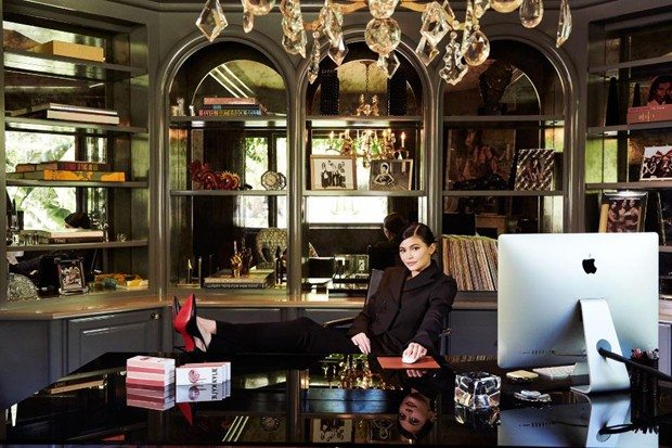Kylie Jenner (Foto: Reprodução/Jamel Toppin/Forbes)