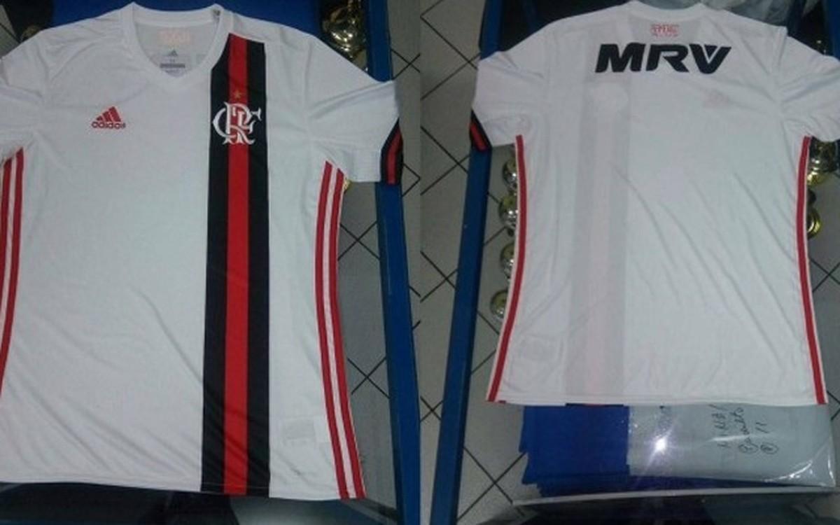 ff08965843 Novo uniforme 2 do Flamengo vaza na internet e chega às lojas em 6 de junho