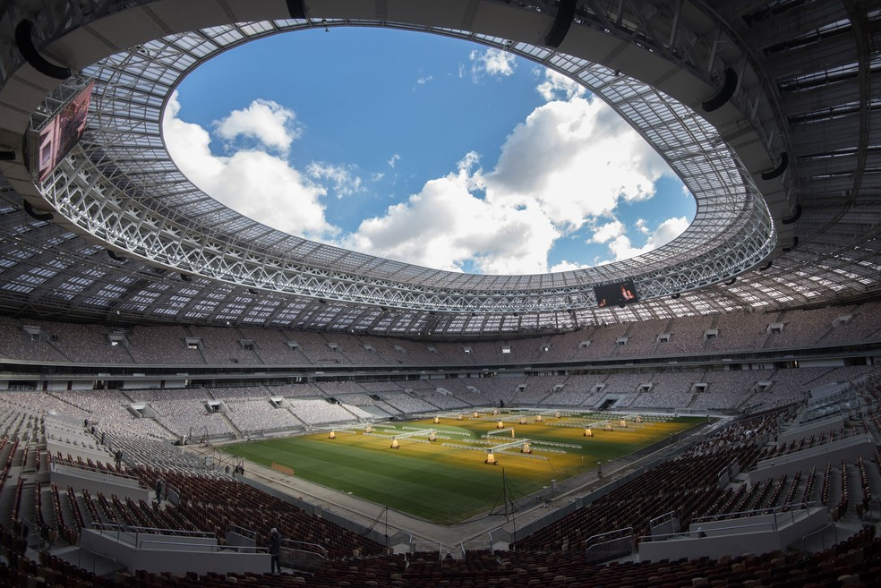 A arena Luzhniki, em Moscou, será o principal estádio da Copa do Mundo da Rússia em 2018  (Foto: Iliya Pitalev/Sputnik )