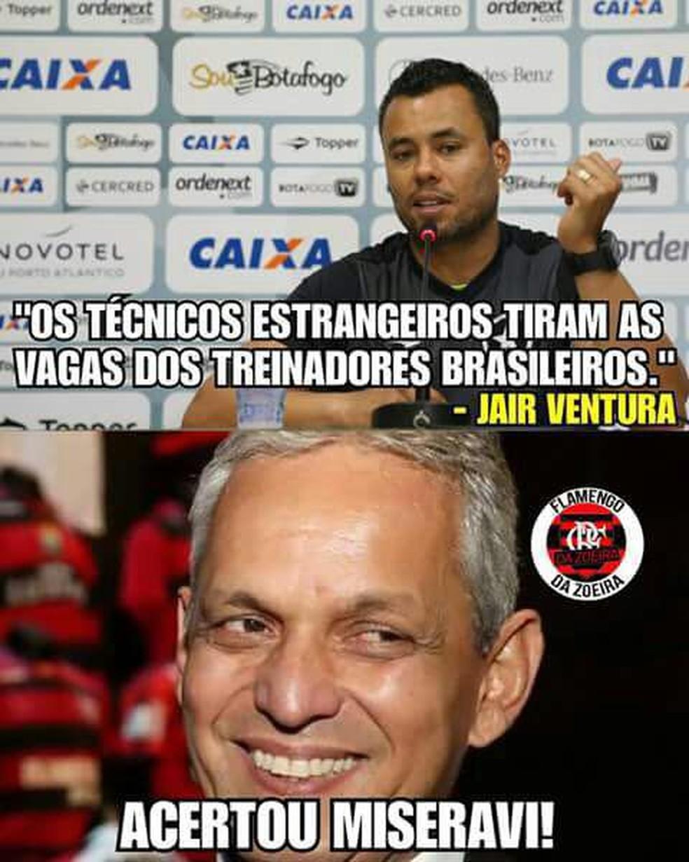 Botafogo fora da Libertadores rende zoações nas redes sociais ... 91bca17cfa0f3
