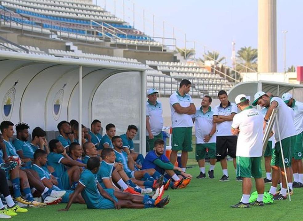 Boavista se prepara para o Carioca nos Emirados Árabes pelo segundo ano seguido — Foto: Eduardo Peralta/Boavista