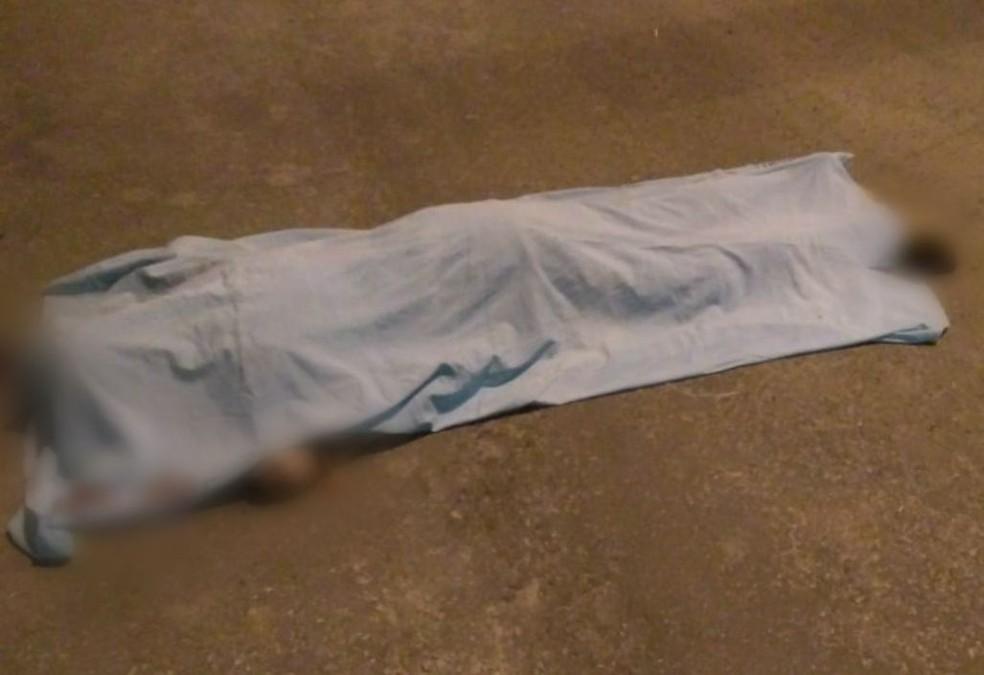 Adolescente foi morto a tiros em uma tentativa de assalto — Foto: Rondônia News/Reprodução