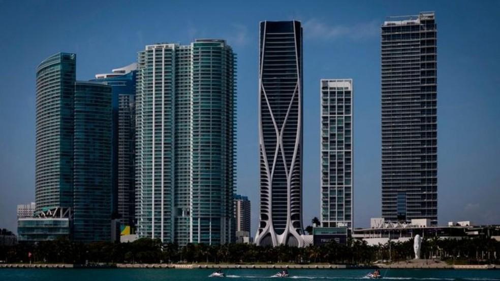 O interesse dos novos compradores será nos edifícios mais novos e luxuosos — Foto: Getty Images via BBC
