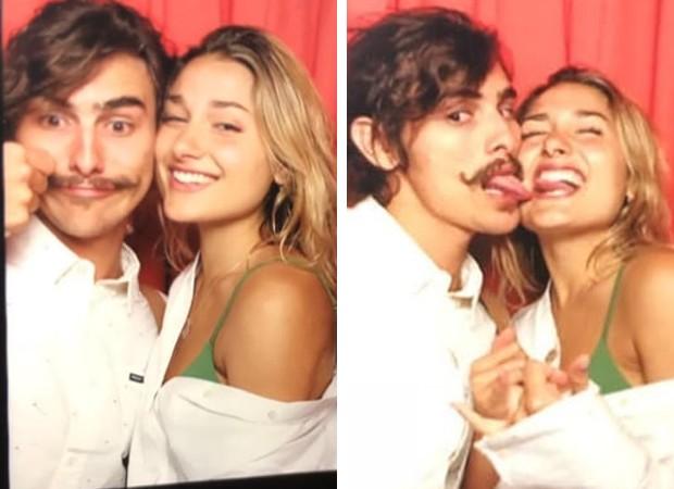Bruno Montaleone e Sasha: romance (Foto: Reprodução Instagram)