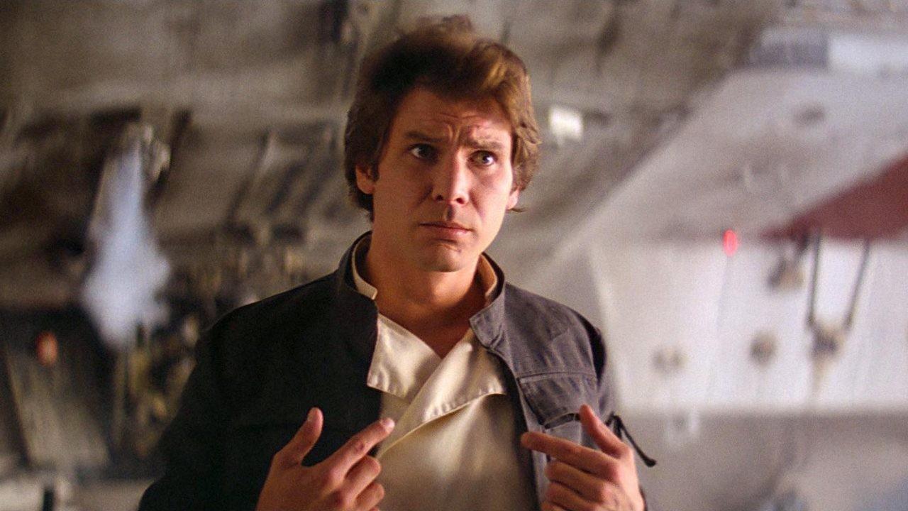 Harrison Ford como Han Solo em 'Star Wars: O Império Contra-Ataca' (Foto: Reprodução)