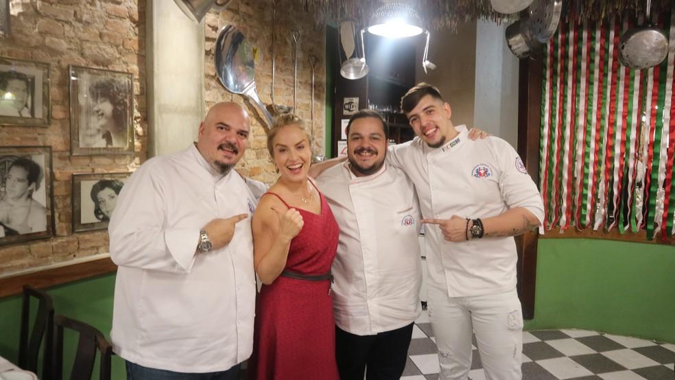 Cantina italiana é sucesso no Estrelas do Brasil! (Foto: Adolfo Nomelini/TV GLOBO)
