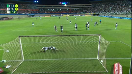 Veja os gols de Goiás 2x2 Corinthians