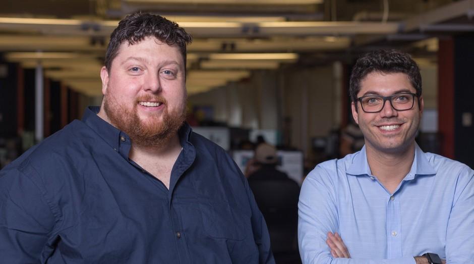 Drew McElroy e Jonathan Salama, fundadores da Transfix (Foto: Facebook/Transfix)