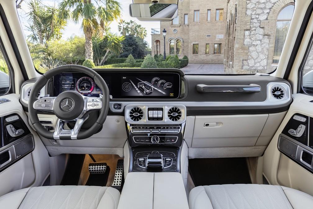 Mercedes-Benz G63 — Foto: Divulgação