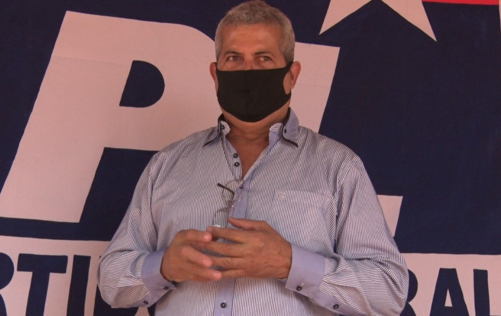 Naife, candidato pelo PL em Guajará-Mirim  — Foto: Reprodução/Rede Amazônica