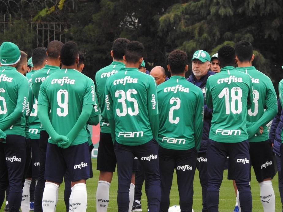 Com três novidades certas, veja como Mano Menezes deve escalar o Palmeiras para estreia