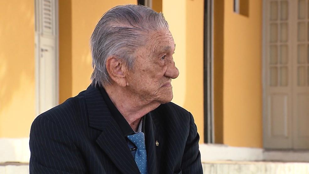 Otinaldo Lourenço, em imagem de 2017 — Foto: TV Cabo Branco/Reprodução