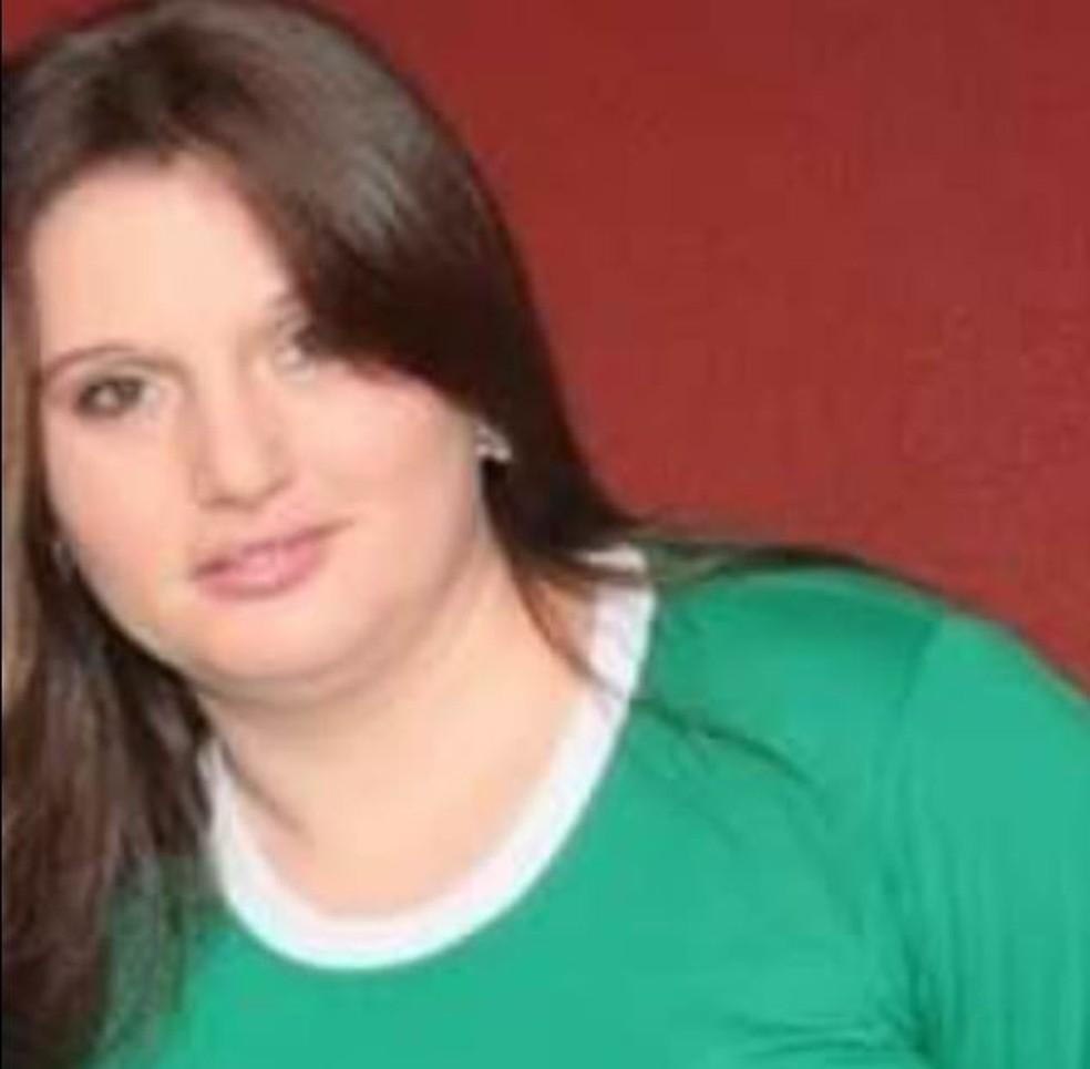 A técnica de enfermagem Eliandre Boscato, de 43 anos, também morreu à espera de um leito de UTI em São Miguel do Oeste (SC) — Foto: Redes Sociais/Reprodução