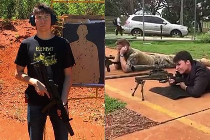 Filho mais novo de Bolsonaro exibe armas nas redes sociais e ...