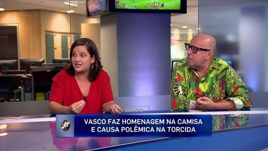 """Camila Carelli destaca homenagem do Vasco: """"Fez valer a alcunha que tem de gigante"""""""